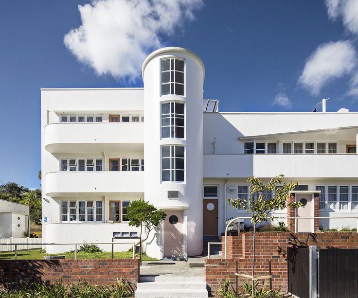 Centennial Flats Wellington Architect: Gordon Wilson