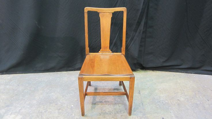 Set of 6 #mahogany #dining #chairs in for #repairs & #refinishing to a different colour