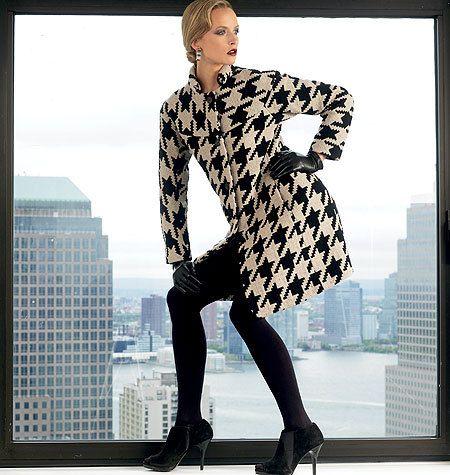Vogue Coat Pattern V1320 by ISSEY MIYAKE  by ThePatternSource, $24.00