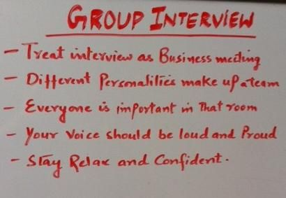 Important tips for acing group interview