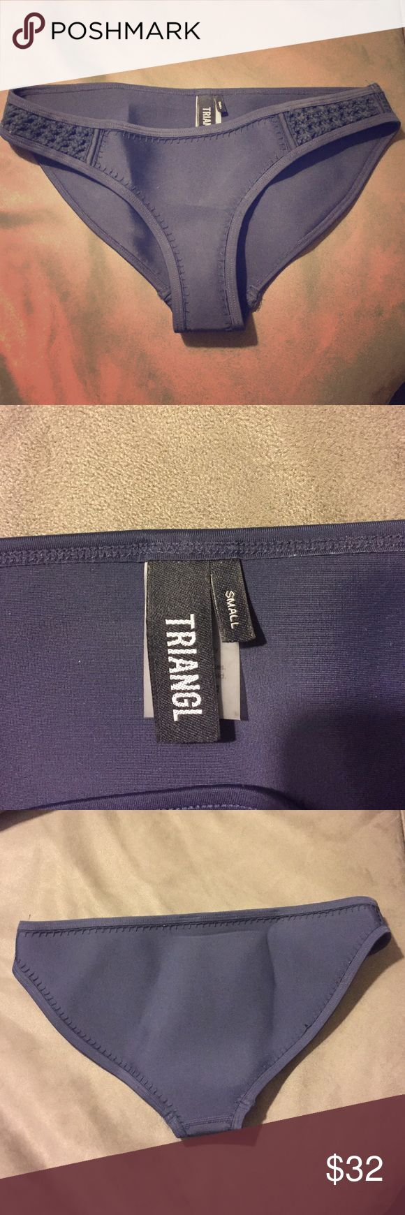 Triangl swim suit bottom Dark blue triangl swim suit bottom NEVER WORN! triangl swimwear Swim Bikinis
