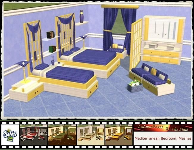 Sims 2 Bedroom