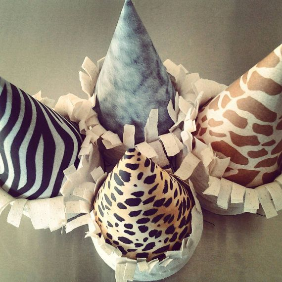 Check out this item in my Etsy shop https://www.etsy.com/listing/161766485/safari-africa-zoo-themed-party-hats