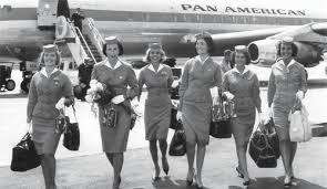 pan am uniforms #fashion #travel #airlines #jet-set