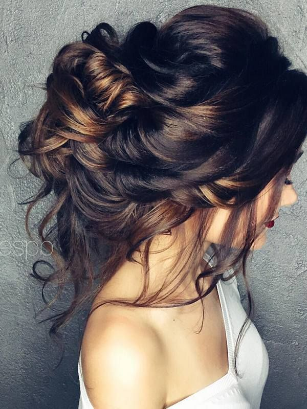 Strange 1000 Ideas About Wedding Hair Buns On Pinterest Hair Buns Short Hairstyles Gunalazisus
