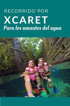 Si eres un amante del agua, te dejamos este recorrido en el que podrás disfrutar de las distintas actividades acuáticas que hay en Xcaret.