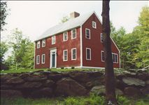 Martha-Kimball-Haus (Saltbox-Haus)   – Homesteads/Floor Plans