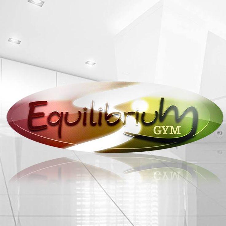 #diseño de #logotipo para #gimnasio Equilibrium