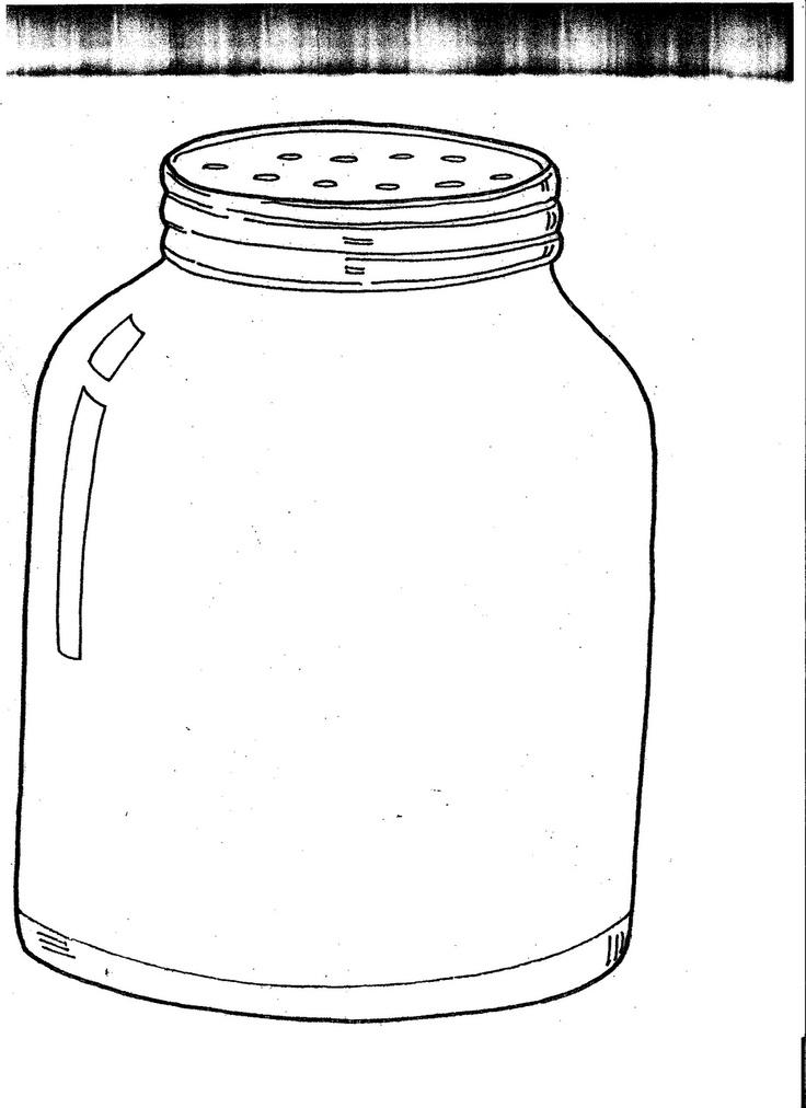 Bug Jar Coloring Page