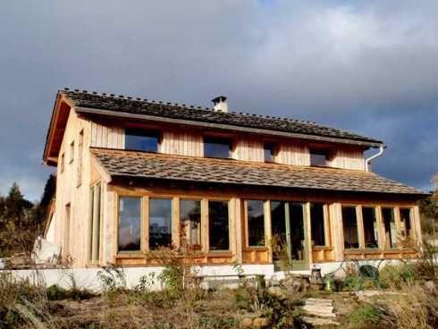 Autoconstruction d'une maison en paille