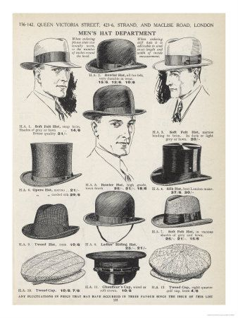 Mens Hat Types Gallery for mens hat types @G_X_man