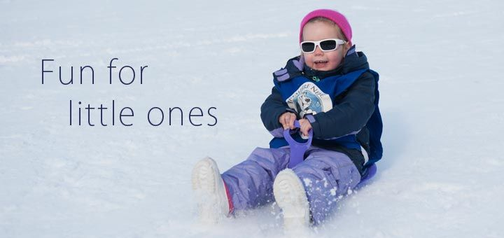 Ski holidays with kids should be hassle-free. Book with the Sainte Foy family experts.