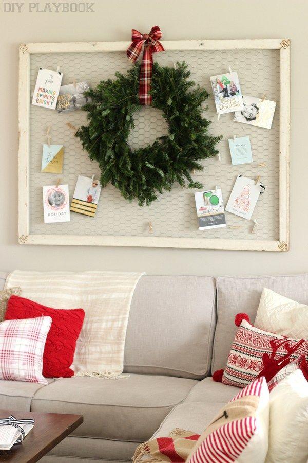 A Plaid and Cozy Christmas Home Tour