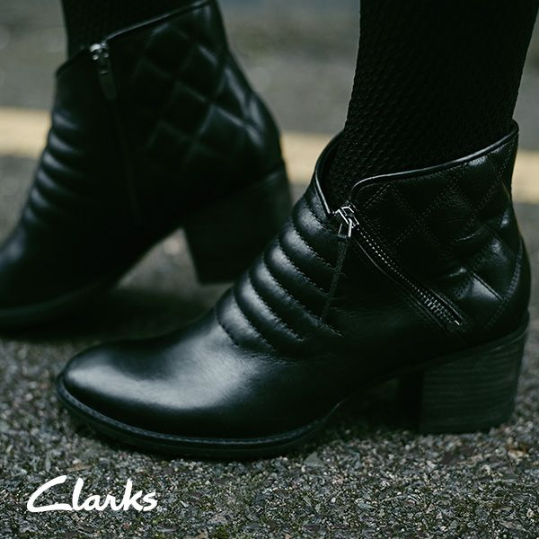Clarks Autumn/Winter 2014 Collection | Women's boots | Movie Retro | Moto boots | Biker boots