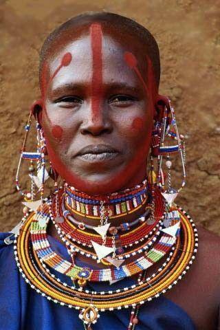 Africa | Maasai woman, Kenya | ©Art Wolfe