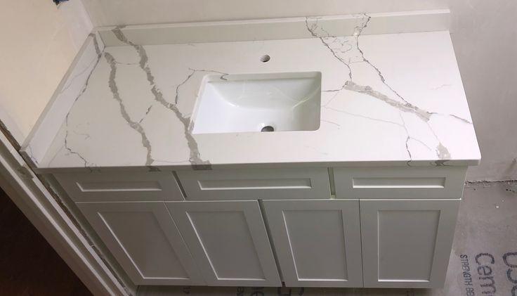 calacatta gold quartz bathroom vanity calacatta quartz on replacement countertops for bathroom vanity id=44440