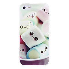 iphone+7+plus+aranyos+mályvacukor+minta+pc+kemény+tok+iPhone+5+/+5s+–+EUR+€+4.44
