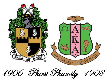Alpha Phi Alpha and Alpha Kappa Alpha are the 1st two Black Greek organizations to be Incorporated, Alphas (Fraternity) in 1906 & AKA's (Sorority) in 1908