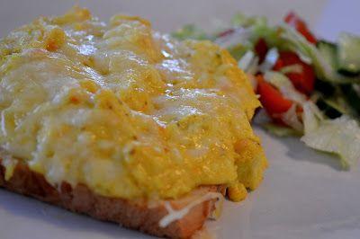 Varma mackor med kycklingröra | Therése mat & bak