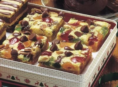 Chocolate Chip Fruit and Nut Bars Recipe