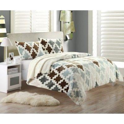 Narzuta na łóżko - dekoracje domu, narzuta na łóżko, przykrycie, sherpa, sypialnia - TRENDmag.pl - najnowsze trendy