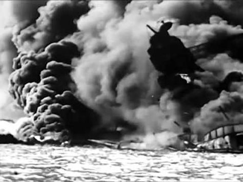 Bombing of Pearl Harbor on 7th December 1941 - Attack on Pearl Harbor, Hawaii