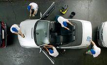 Lavage de luxe pour votre voiture