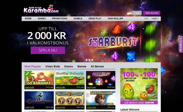 No download needed – at Karamba you can enjoy all of the online #Slots #games with no download required - Karamba Casino >> jackpotcity.co/r/110.aspx