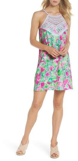 b595745b70f6a7 Lilly Pulitzer(R) Pearl Lace Halter Neck Shift Dress | Summer Style ...