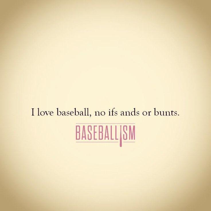 I Love Baseball...