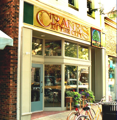 Crane's In The City serves homemade pies, crisps, cakes, and dumplings, all freshly baked on the premises. They're most famous for their apple pies, apple cider, apple butter, and apple cider donuts.: Apples Cider, Cranes Pies, Cider Donuts, Apples Pies, Downtown Holland, Favorite Places, Apple Cider, Famous Apples, Cities Holland