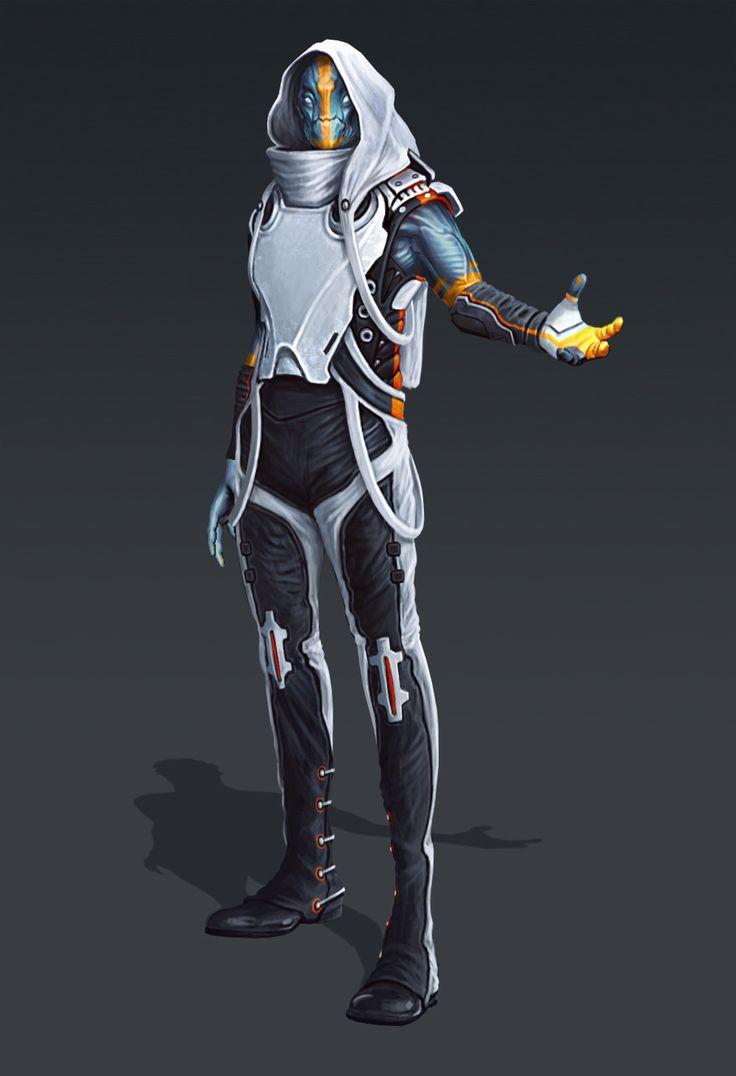 ArtStation - Alien Villain Concepts, Evozon Game Studio