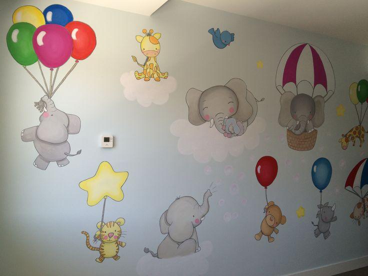 Dibujos Pared Infantil Excellent Wallpark Dibujos Animados Lindo - Dibujos-pared-infantil