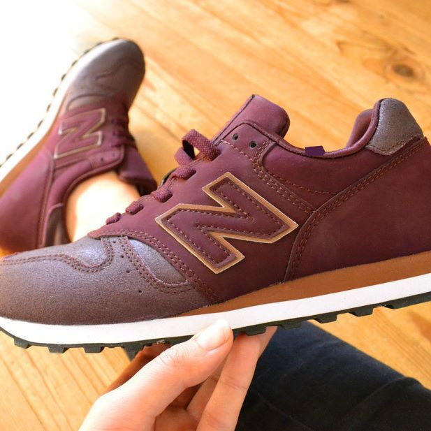 new balance bordeaux pailleté