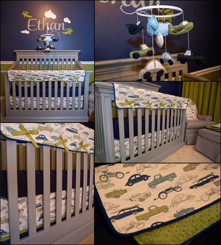 The JarCar Family Blog: Ethan's Transportation Nursery!!