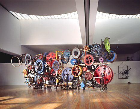 jean tinguely, kinetic sculpture