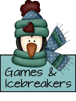 Games and Icebreakers -- good list!  Geared for women.  And check out the pdf file of other submitted icebreakers.  Lots of good ideas!