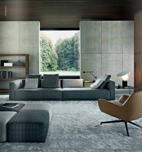 Interior Design By Minotti | Architecture & Interior Design | Pinterest | Interiors, Living rooms and Room