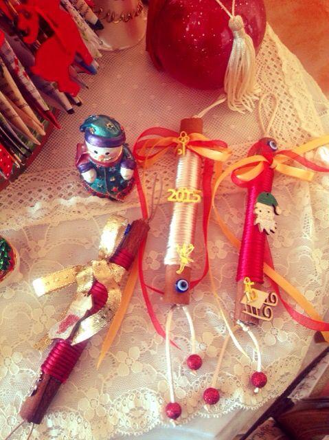 Christmas handmade lucky charms ...cinnamon