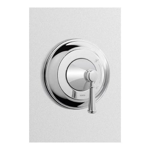 Toto TS220P1 Vivian Single Handle Pressure Balanced Shower Valve Trim Only with Lever Handle (Polished chrome)