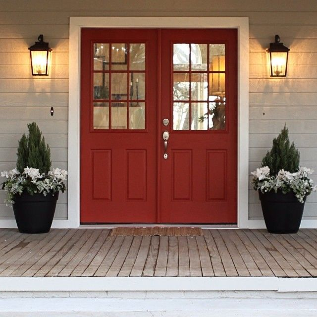 Best Red For Front Door: 25+ Best Ideas About Red Doors On Pinterest