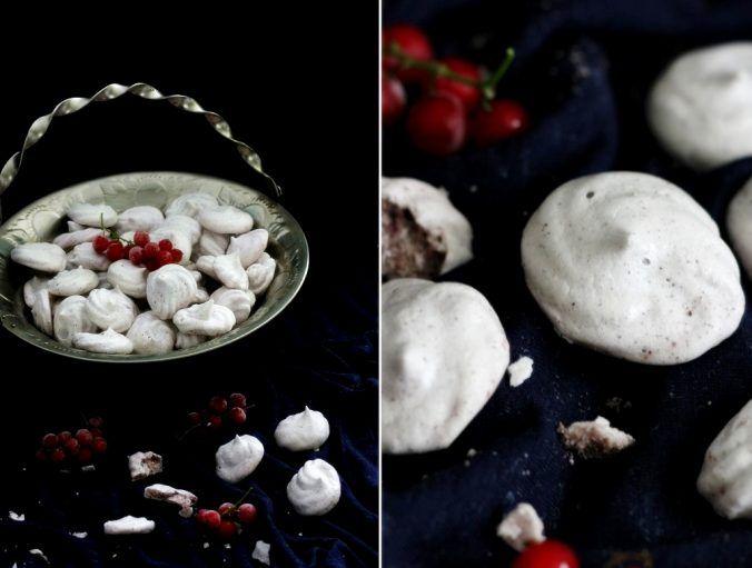 Vegan Aquafaba meringues Wegańskie bezy z aquafaby