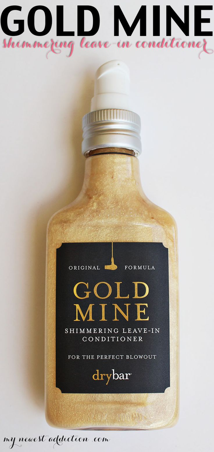 Drybar Gold Mine Shimmering Leave-In Conditioner Review + Giveaway - My Newest Addiction Beauty Blog www.mynewestaddiction.com