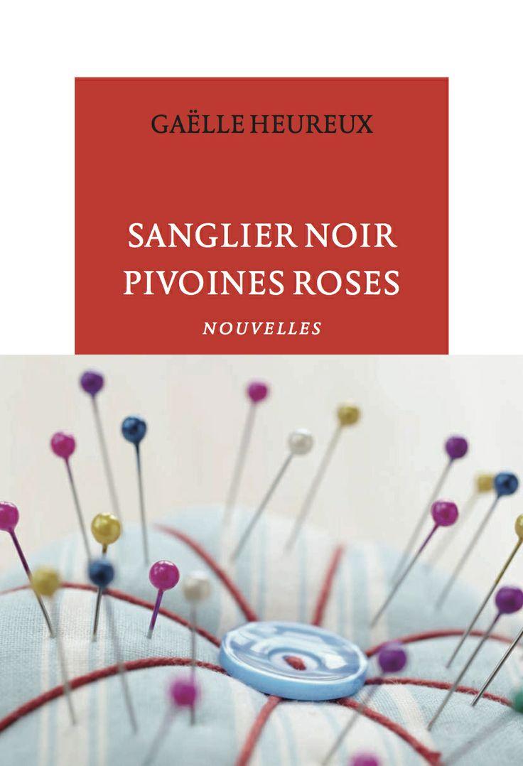 """""""Sanglier noir, pivoines roses"""" de Gaëlle Heureux 4/5"""