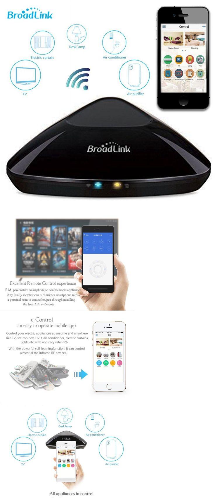 Home automation kits broadlink rm pro smart home automation wifi ir rf appliance remote controller