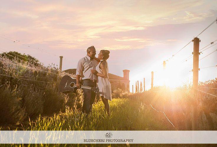 Engagement in the lavender fields www.bluecheri.co.za