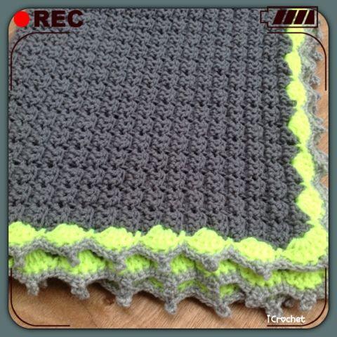 iCrochetstuff: Coolste babydekentje lief! (Free crochet pattern)