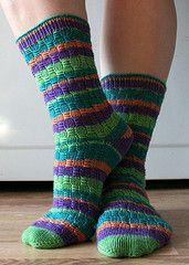 Ravelry: Oh So Nikki Socks pattern by Judy Sumner