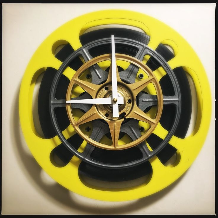 The 39 best film reel wall clocks images on Pinterest | Film reels ...