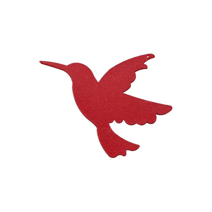 Lawn Decor Screen Saver Red Hummingbird - Threshold, Hummingbird/Red